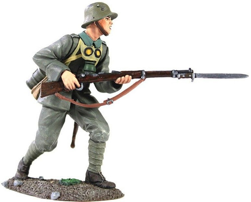 WBritain 23057 1916-18 German Infantry Advancing No.2 - 1 Piece Set in Clamshell Pack