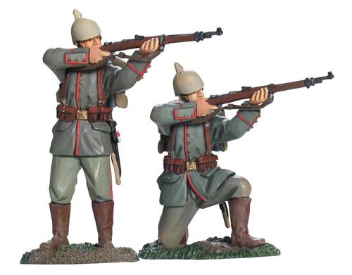 WBritain 17872 German 84th Infanterie Regiment von Manstein Firing Set No.1