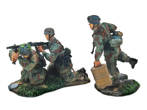 WBritain 17654 German 3rd Fallshirmjaeger