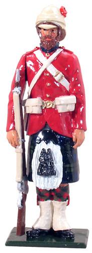 WBritain 44027 Highlander, 42nd (Black Watch) Highlanders, 1882