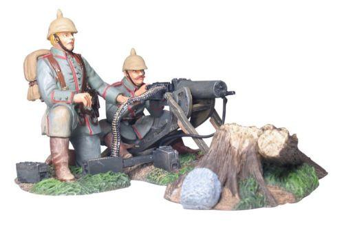 WBritain 17947 German Infantry Machine Gun Firing Set