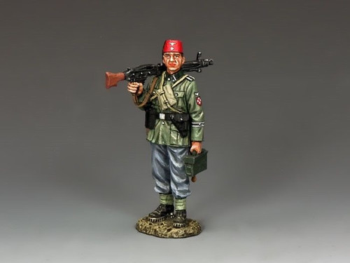 King & Country WS252 Standing Marching Gunner