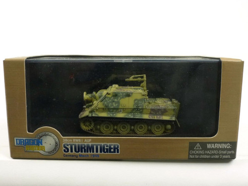 Dragon Armor 60114 Sturmtiger With Zimmerit Germany 1945 1/72 Diecast Model