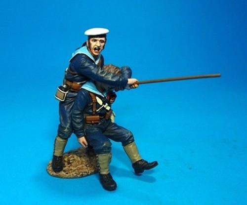 John Jenkins Designs SRN-07 Wounded Sailor and Helper