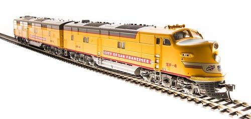 Broadway Limited 5404 HO Scale EMD E6 AB Set