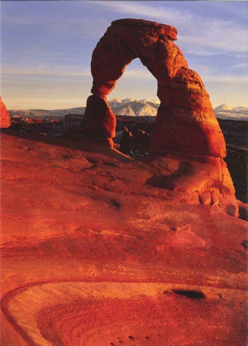 10 Original Photographic Art Note Cards With Envelopes Delicate Arch Utah C1422