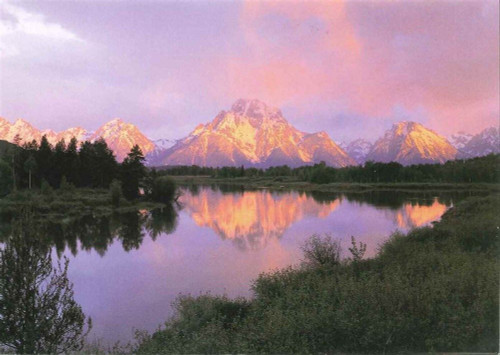10 Original Photographic Art Note Cards With Envelopes Oxbow Bend Mount Moran