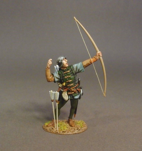 John Jenkins Designs Soldiers LANC-33 Lancastrian Archer Battle Of Bosworth 1485