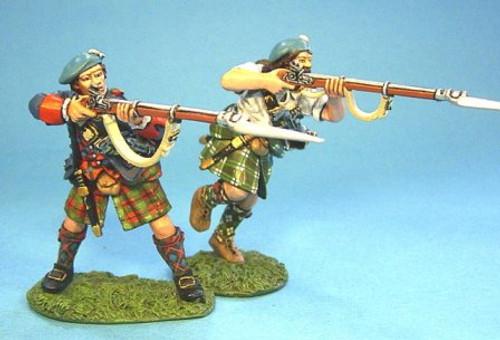 John Jenkins JR-02 Highlanders Charging with Musket #1 2pcs