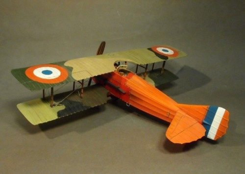 John Jenkins Designs Soldiers ACE-28 Knights Of The Skies SPAD XIII SPA38 Plane