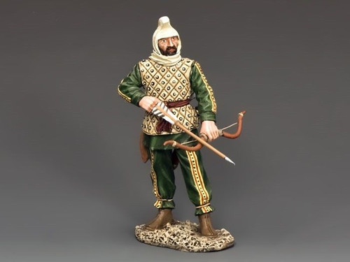 King & Country Toy Soldiers AG019 Persian Archer Ready