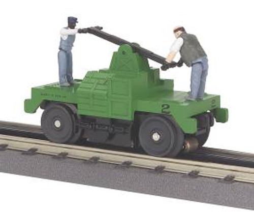 MTH Trains 30-2526 O Gauge MoW Operating Hand Car