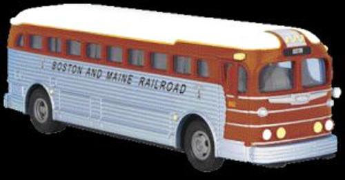 MTH Trains 30-50069 O Gauge B&M Diecast Bus