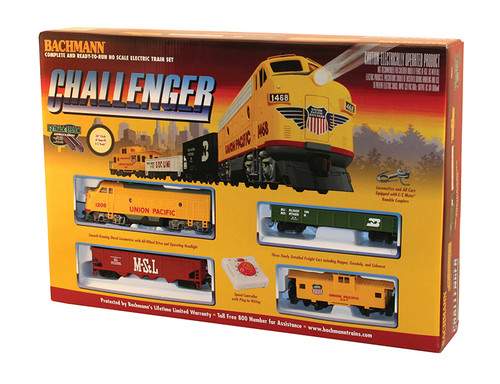 Bachmann Trains 00621 HO Scale Challenger Freight Set/UP F7