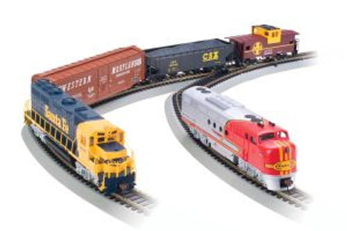 Bachmann Trains 00501 HO Scale SF Digital Commander Diesel Set/DCC