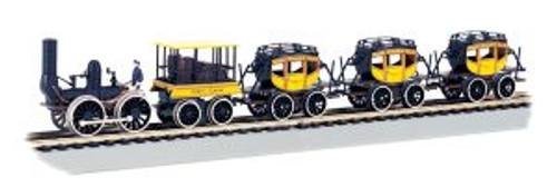 Bachmann Trains 00641 HO Scale DeWitt Clinton Set