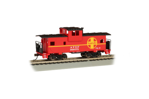 Bachmann Trains 17704 HO Scale 36' WV Caboose SF #999771/red