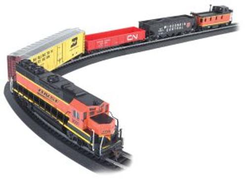Bachmann Trains 00706 HO Scale BNSF Rail Chief Freight Set/GP40