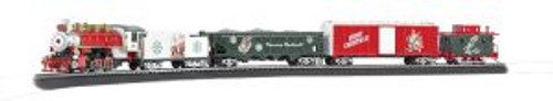Bachmann Trains 00741 HO Scale Norman Rockwell Christmas Set/0-6-0