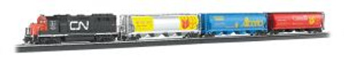 Bachmann Trains 00735 HO Scale CN Harvest Express Set/GP40