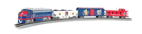 Bachmann Trains 01503 HO Scale EZ APP BSA Scout Special Freight Set/F7A Diesel