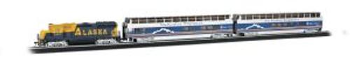 Bachmann Trains 00743 HO Scale McKinley Explorer Psg.Set/GP40