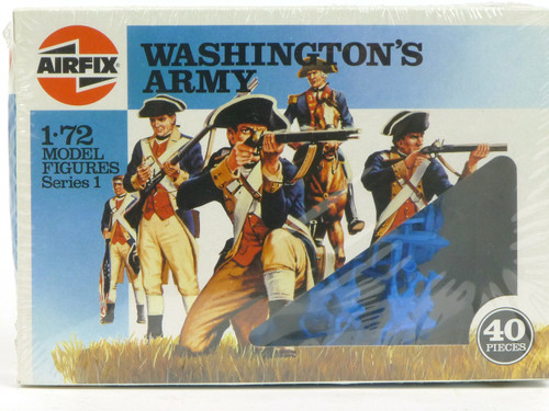Airfix 01739 Washington's Army 1:72 Scale Plastic Model figures Series 1