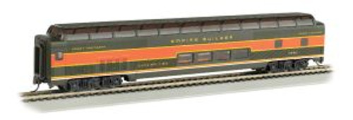 Bachmann Trains 13011 HO Scale 85'Full Dome GN/grn&org