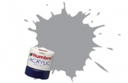 Humbrol Acrylic Paint 40 Pale Grey Gloss - 12ml AB0040