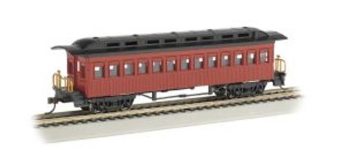 Bachmann Trains 13402 HO Scale 1880's Coach/Unlttrd/red