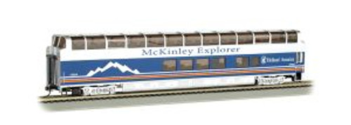Bachmann Trains 13341 HO 89' Mckinley Explorer Full Dome #1052 Chena