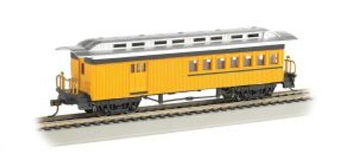 Bachmann Trains 13503 HO Trains 1880's Combine/Unlttrd/yel