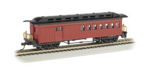 Bachmann Trains 13502 HO Scale 1880's Combine/Unlttrd/red