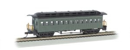 Bachmann Trains 13405 HO Scale 1880's Coach Unlttrd./grn