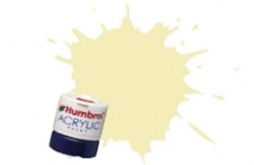 Humbrol Acrylic Paint 41 Ivory Gloss - 12ml AB0041