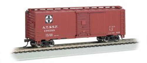 Bachmann Trains 15001 HO Scale 40' Steam Era Boxcar SF