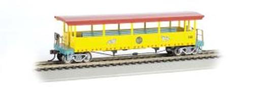 Bachmann Trains 16602 HO RINGLING/Open Excursion Car w/Seats #142