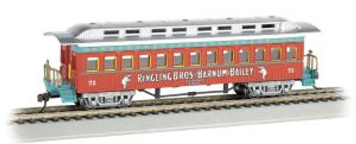 Bachmann Trains 16601 HO Scale RINGLING/1860-1880 Coach #75