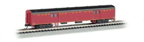 Bachmann Trains 14452 N 72' Smoothside Baggage Car N&W
