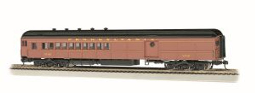 Bachmann Trains 13607 HO 72' Hvywt Combine PRR #5159/Postwar w/Round Window Door