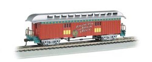Bachmann Trains 16610 HO Scale RINGLING/OT Baggage Car