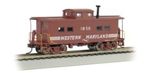 Bachmann Trains 16816 HO Scale NE Steel Caboose WM #1858/Speed Letter