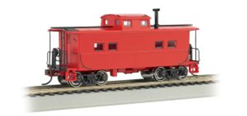 Bachmann Trains 16806 HO Scale NE Steel Caboose Unlttrd/red