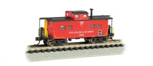Bachmann Trains 16861 N Scale NE Steel Caboose D&H