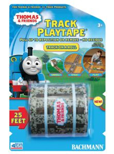 Bachmann Trains 09099 HO TTT Thomas & Friends Track Playtape 25'x2