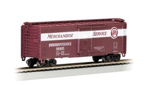 Bachmann Trains 17014 HO Scale 40' PS-1 Boxcar PRR/Merchandise