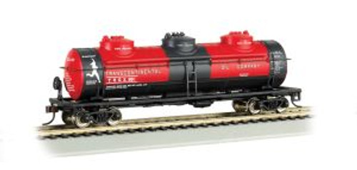 Bachmann Trains 17142 HO 40' Triple Dome Tank Car Transcontinental
