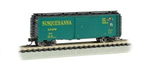 Bachmann Trains 17058 N 40' Boxcar Susquehanna/Suzy Q