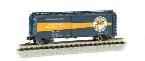 Bachmann Trains 17057 N Scale 40' Boxcar B&O Timesaver