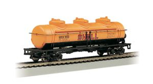 Bachmann Trains 17101 HO 40' Triple Dome Tank Car Shell #1253